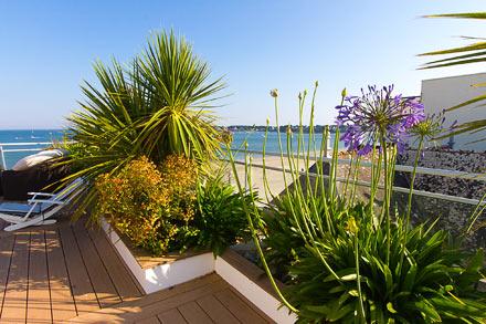 jardins bretons bord de mer jardin zen ou exotique sarl pain concept et design paysage. Black Bedroom Furniture Sets. Home Design Ideas